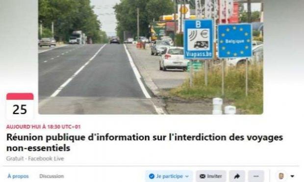 Pétition : Levée de l'interdiction des voyages non-essentiels à destination et à partir de la Belgique