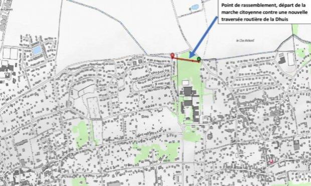 Pétition : Refusons une nouvelle traversée routière de la promenade de la Dhuis
