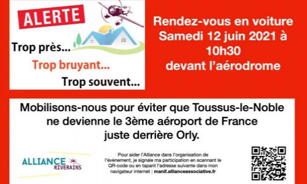 Pétition : Pétition à l'encontre des nuisances aériennes de l'aérodrome de Toussus-Le-Noble