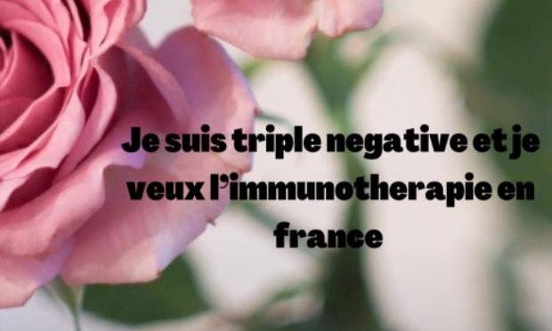 L'accès à l'immunothérapie en France pour les cancers du sein triple négatif