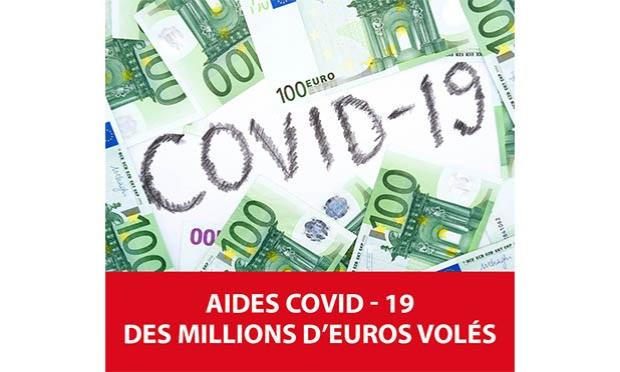 STOP aux arnaques à la prime entreprise Covid-19 !