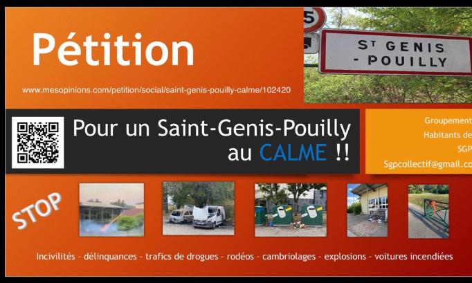POUR un Saint-Genis-Pouilly au CALME !!!
