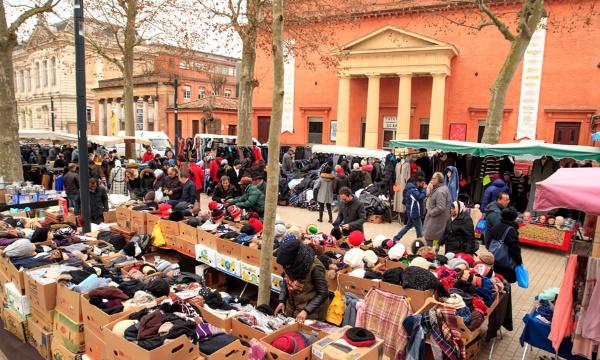 Toulouse : pour déplacer le marché Jules Guesde