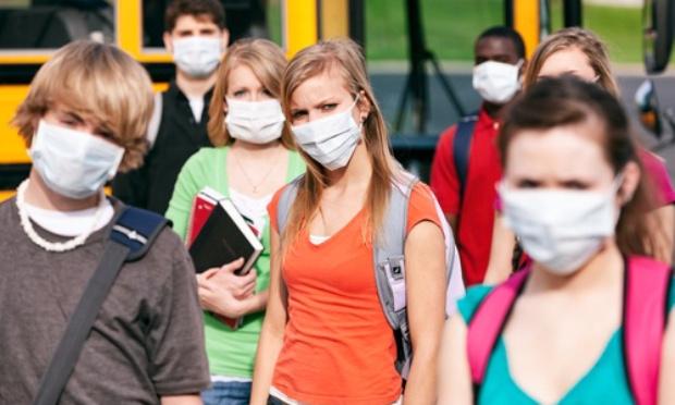 Pétition : Contre l'obligation du port du masque par les élèves de collège et de lycée