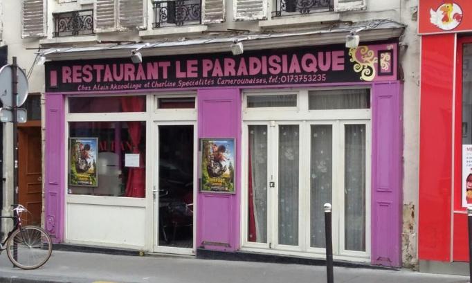 Pour la fermeture du restaurant Le Paradisiaque