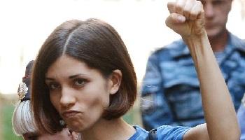Pétition : Soutien aux Pussy Riot et à Nadejda Tolokonnikova