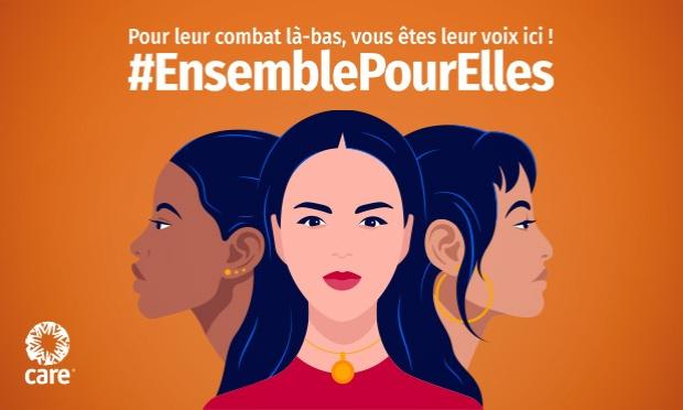 Pour leur combat là-bas, vous êtes leur voix ici ! #EnsemblePourElles