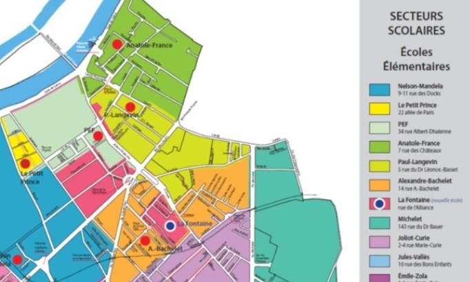 Pétition : Pour une nouvelle carte scolaire dans notre quartier !