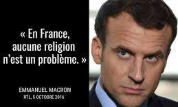 Non au financement de l'islam de France par l'Etat, au développement de l'enseignement de la langue arabe à l'école