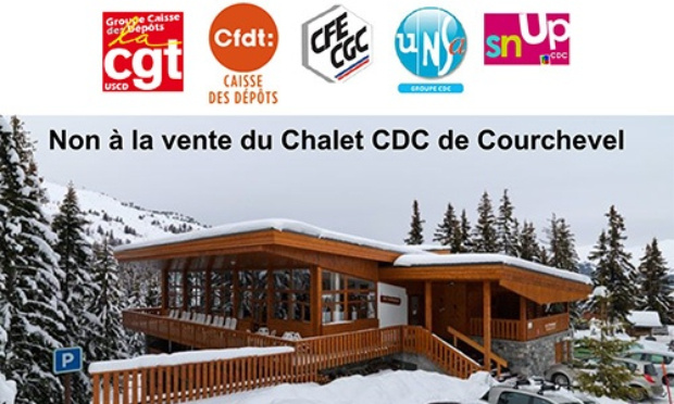 Pétition : Non à la vente du Chalet CDC de Courchevel
