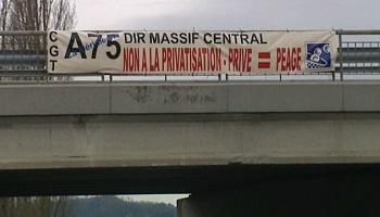 Pétition : Contre la privatisation de l'autoroute A75 !