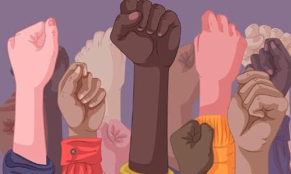 Stop au racisme! Les gens qui ont des couleurs de peau plus foncer plus colorer plus claire sont des humains alors comme nous le reste du monde ils ont le droit d'être traiter de magniere correcte!