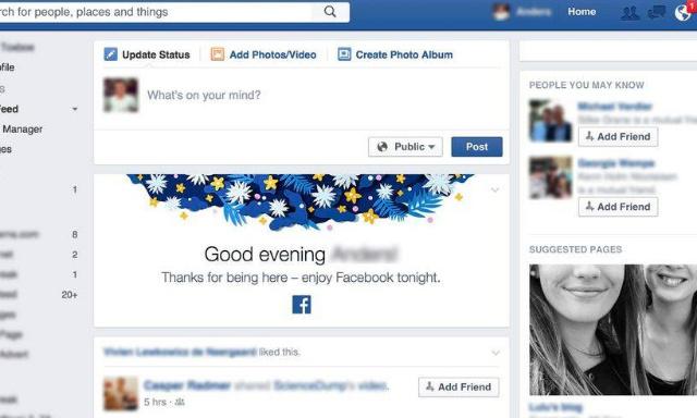 Pétition : NON à la nouvelle version Facebook
