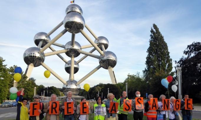 Pétition : Exigeons l'asile politique en Belgique pour Julian Assange !