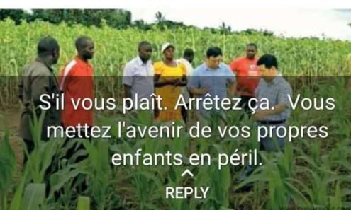 # arrêt de vente de terre Agricole du Togo aux étrangers