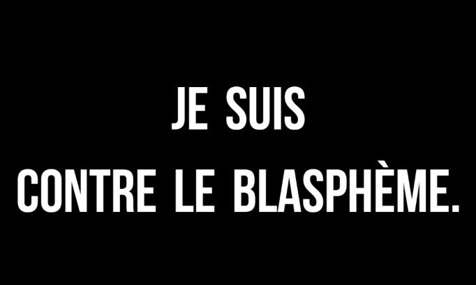 Demandons l'interdiction du droit au blasphème.