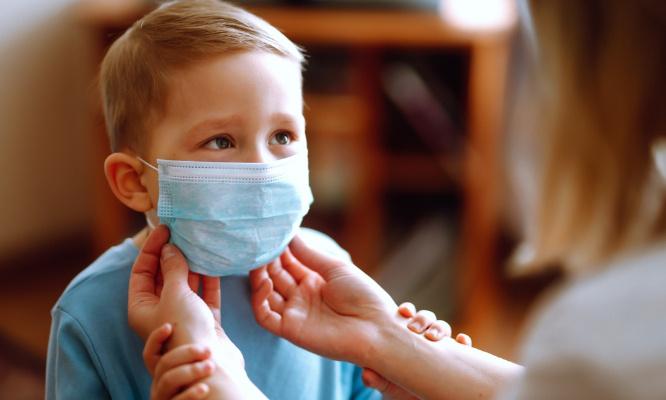 Non à l'obligation du port du masque chez les enfants à partir de 6 ans