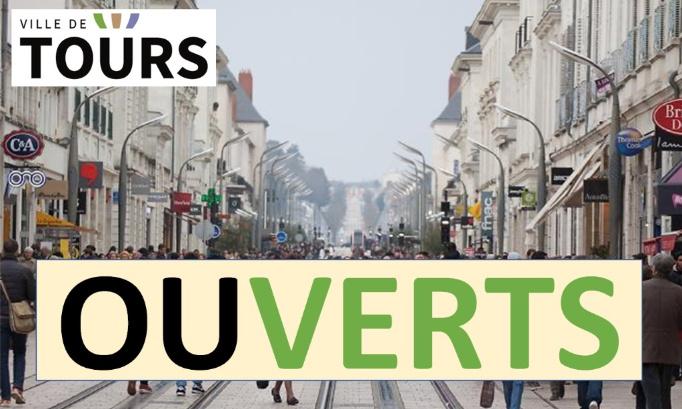 Ouverture des commerces de proximité non alimentaires de la ville de Tours