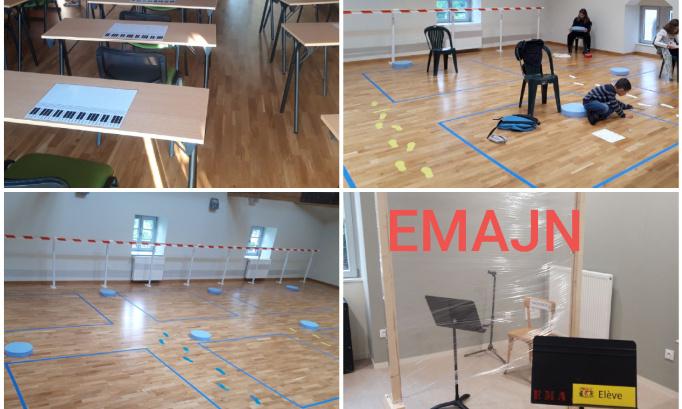 Pour un retour de nos élèves à l'école de musique et de danse