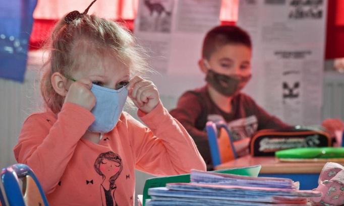 suppression du masque obligatoire pour les enfants de l'école primaire