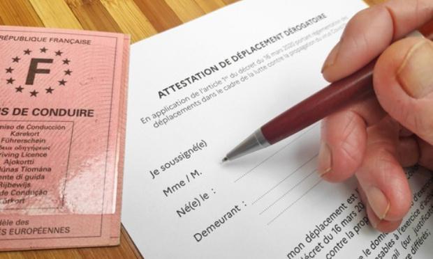 SUPPRESSION de l'ATTESTATION de sortie pour les citoyens et de la limitation de déplacement