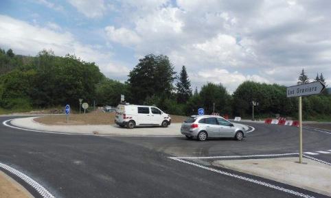Saulxures-sur-Moselotte : pour que le rond-point des Graviers soit éclairé