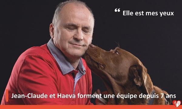 Pétition : Ensemble, œuvrons pour remettre un chien guide à chaque personne déficiente visuelle.