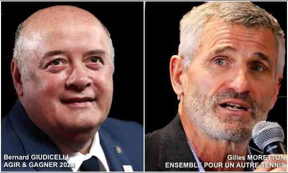 Pétition : POUR un débat public télévisé entre les 2 candidats à la présidence de la Fédération Francaise de Tennis
