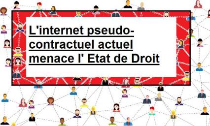 RECHERCHONS POUR LA FRANCE UN DOUBLE INTERNET : D'ORDRE PUBLIC ET CONTRACTUEL