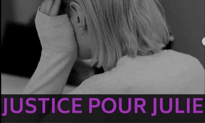 MANIFESTATION VIRTUELLE  : JUSTICE POUR JULIE,  LA LOI DOIT CHANGER