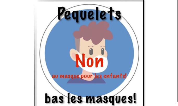 Port du masque pour les enfants à partir de 6 ans : NON MERCI !
