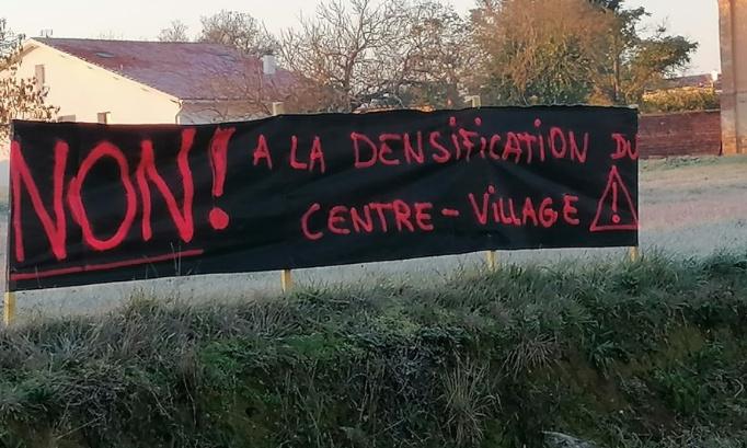 Larra : non à l'hyperurbanisation du centre-village