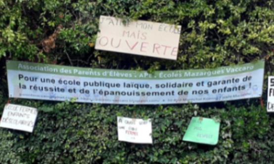 Pétition : Madame la Maire de Marseille, donnez à l'école les moyens qu'elle mérite !