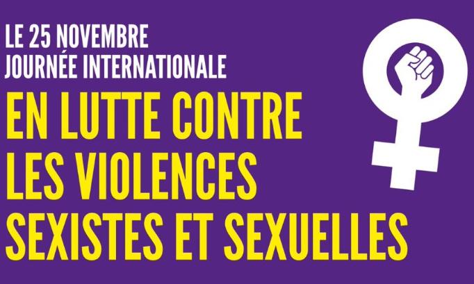 MANIFESTATION VIRTUELLE LE 25 NOVEMBRE DE 12H À 20H : MOBILISONS-NOUS CONTRE LES VIOLENCES SEXISTES ET SEXUELLES
