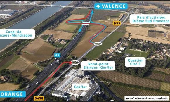 Pétition : Non à l'échangeur Autoroutier A7 Drôme Provençale