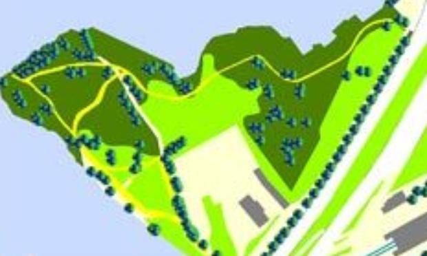 "NANTES : Sauvegarde du ""Jardin Confluent"""