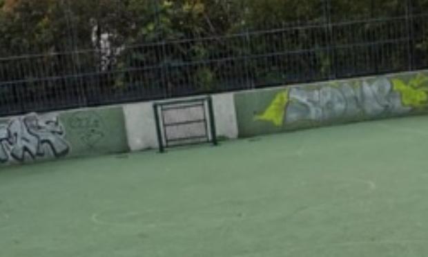 Rétabblissement des anciennes cages de foot zac Didot