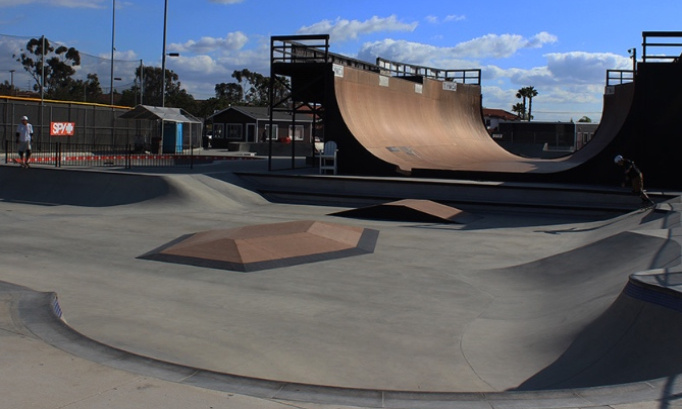 Création d'un skatepark