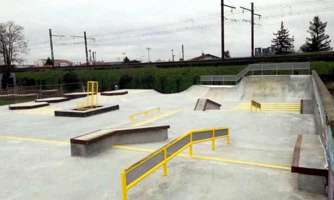 Projet skatepark et développement de l'activité sportive
