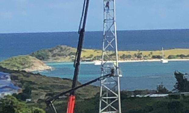 Déplacer le pylône en-dehors du paysage