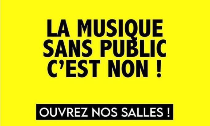 LA MUSIQUE SANS PUBLIC C'EST NON !