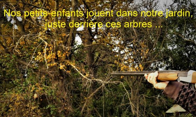 Non à la chasse à moins de 150 mètres autour des habitations !