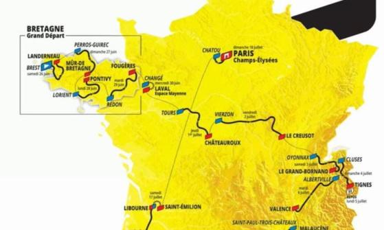 Les trois équipes cyclistes professionnelles Françaises, Arkéa-Samsic, B&B Hôtels et Total Direct Energie, doivent toutes participer au Tour de France 2021 !!!