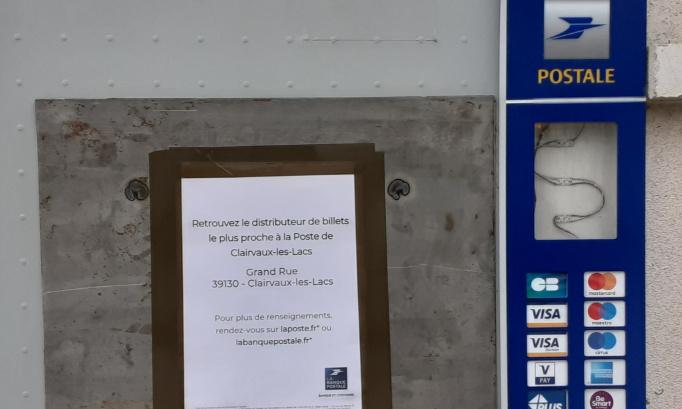 Pétition contre la dégradation du service public postal à Orgelet