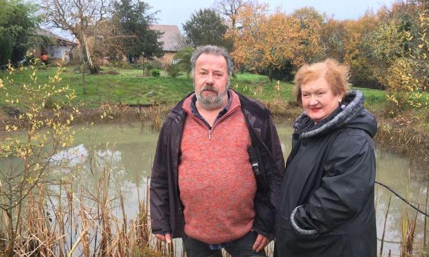 Sauvons la marre aux grenouilles a Grignols en Dordogne