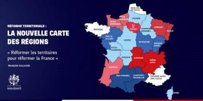 Pétition : Contre la réforme territoriale : pas touche à nos régions !