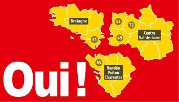 Pétition : Non au Grand Ouest, Oui à une Bretagne avec la Loire-Atlantique dans un Ouest équilibré !