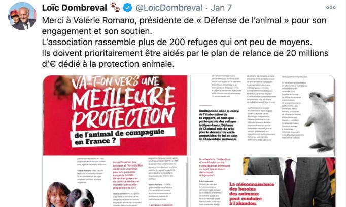 Loic Dombreval, vos propos sont scandaleux, démissionnez !