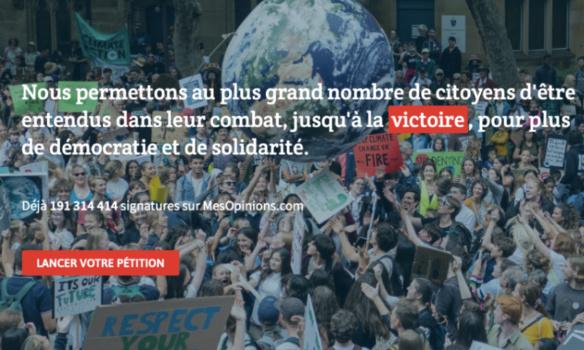 Pour que MesOpinions.com ouvrent les commentaires aux membres qui n'ont pas signé la pétition
