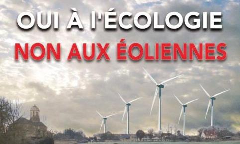 Non aux éoliennes sur Thue et Mue